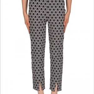 Joseph Ribkoff Patterned Pull On Cropped Pants